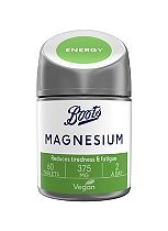 Boots Magnesium 375 mg - 60 2 a day tablets