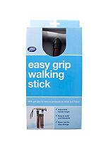 Boots Folding Walking Stick With Gel Handle - Red