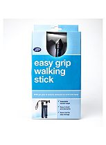 Boots Folding walking stick with Gel Handle - Blue