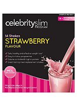 Celebrity Slim Strawberry 7 day Shake Pack - 14 x 55 g
