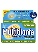 Multibionta Activate 6 months supply