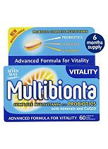 Multibionta Vitality - 180 tablets 6 months supply