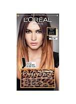 L'Oreal Preference Wild Ombres No 1 Dip Dye Hair Kit Light Brown to Dark Brown