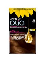 Garnier Olia Permanent Hair Colour 5.3 Golden Brown