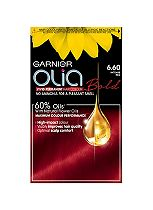 Garnier Olia Permanent Hair Colour 6.60 Intense Red