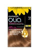 Garnier Olia Permanent Hair Colour 7.0 Dark Blonde