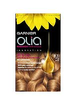 Garnier Olia Permanent Hair Colour 8.31 Golden Ash Blonde