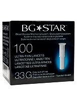 BGStar Ultra-Thin Lancets- 100 Lancets