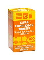 HRI Clear Complexion Tablets - 100 tablets