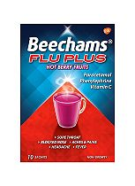 Beechams Ultra All-in-One Hot Cranberry and Blackcurrant
