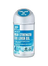 Boots Pharmaceuticals COD LIVER OIL 500 mg 60 Capsules