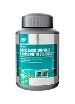 Boots Glucosamine Sulphate 500 mg, Chondroitin Sulphate 400 mg and Vitamin C Food Supplement 180 tablets