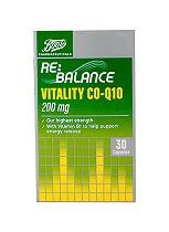 Boots VITALITY CO-Q10 200 mg 30 capsules
