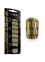 L'Oreal Paris Colour Riche Nail Stickers D'Or Lamé