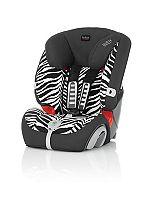 Britax Evolva 1-2-3 Plus Car Seat - Smart Zebra