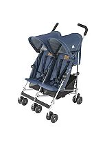 Maclaren Twin Triumph Pushchair - Denim