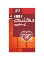 Boots Krill Oil Extra Strength - 30 Capsules