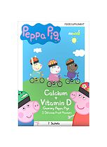 Peppa Pig Calcium and Vitamin D Gummy Pigs - 7 Sachets