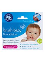 Brush-Baby DentalWipes  - 28 hygienically wrapped wipes