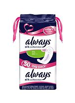 Always Silk Collection Softer + Perfume Free Normal, 30 Pads
