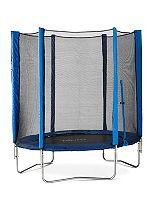 Plum® 6ft Trampoline and Enclosure Blue