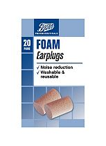 Boots Pharmaceuticals Foam Ear Plugs - 20s