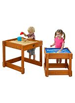 Plum® Sandy Bay Wooden Sand and Water Table