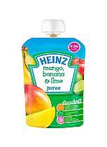 Heinz 4-36 Months Mango, Banana & Lime Puree 100g