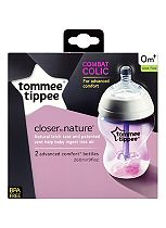 Tommee Tippee® Closer to Nature® Advanced Comfort Baby Feeding Bottles - 2 x 260ml
