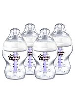 Tommee Tippee® Closer to Nature® Advanced Comfort Baby Feeding Bottles - 4 x 260ml