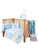 Clair de Lune Ahoy Cot Bed Quilt & Bumper Set