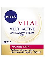 Nivea Vital Multi Active Day Cream SPF12 50ml