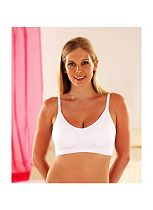 Emma Jane Maternity & Nursing Bra - White