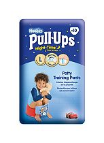 Huggies® Pull-Ups® Disney-Pixar Cars Night-Time Boys Size 6 Potty Training Pants - 1 x 10 Potty Training Pants