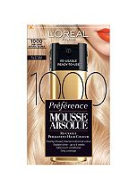 L'Oreal Preference Mousse Absolue Permanent Hair Colour Very Light Natural Blonde 1000