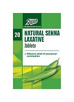 Boots  Natural Senna Laxative - 20 Tablets