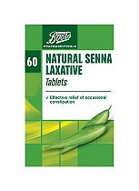 Boots Natural Senna Laxative - 60 Tablets