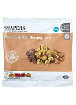 Shapers Chocolate and Toffee Popcorn