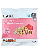 Shapers Strawberry and White Chocolate Popcorn