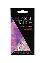 Elegant Touch Envy Patterned Colour Wash Nail Wraps