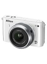 Nikon 1 S1 (10.1MP, Interchangable Lens, 3 inch LCD) Compact System Digital Camera - White