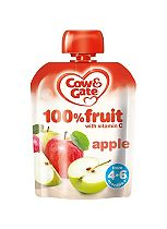 Cow & Gate 4m+ Apple 100% Fruit with Vitamin C. 80g