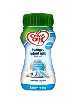 Cow & Gate Infant Milk for Hungrier Babies from Newborn 200ml