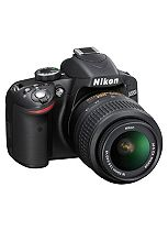 Nikon D3200 Kit (with 18-55 VR lens) (24MP, 3 inch LCD) Digital SLR Camera