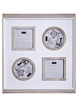 Juliana Home Living Square Multi Aperture Photo Frame -  4 Photos