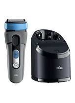Braun CoolTec CT5cc Electric Shaver with active cooling and cleaning center
