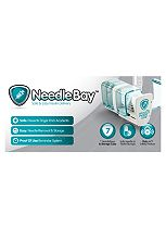NeedleBay System 7 (with case) a storage system for insulin pen needles