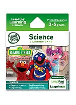 LeapFrog Explorer Learning Game: Sesame Street: Solve It with Elmo, Abby & Super Grover 2.0