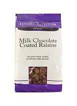 Milk Chocolate Coated Raisins 200g