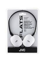 JVC Flats on ear Headphones White